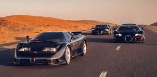 Bugatti EB110, Veyron, Chiron – the trilogy of modern Bugatti