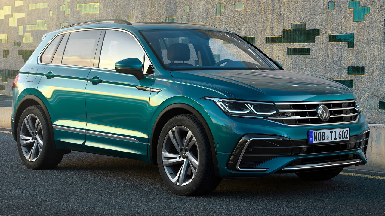 Best Selling Suv 2021 The new Volkswagen Tiguan 2021 : Europe's best selling SUV updated