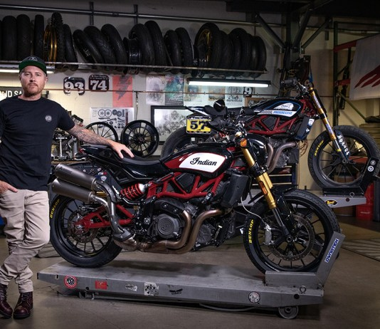 Indian Motorcycle & Roland Sands design deliver race-inspired accessory collection for FTR 1200