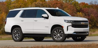 2021 Chevrolet Tahoe LS with the 3.0L Duramax Turbo-Diesel