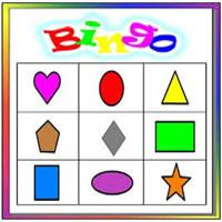 Catalogo de Bingo de Figuras Geometricas