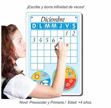 Calendario Pintarron