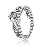 My Princess Stackable Ring, Clear CZ | PANDORA Jewelry US