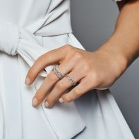 Enchanted Crown Ring, Clear CZ | PANDORA Jewelry US