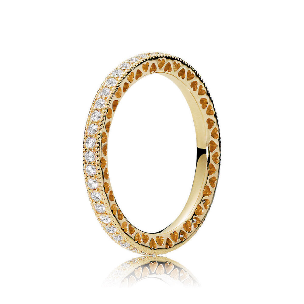Hearts of PANDORA Ring PANDORA Shine  Clear CZ  PANDORA Jewelry US