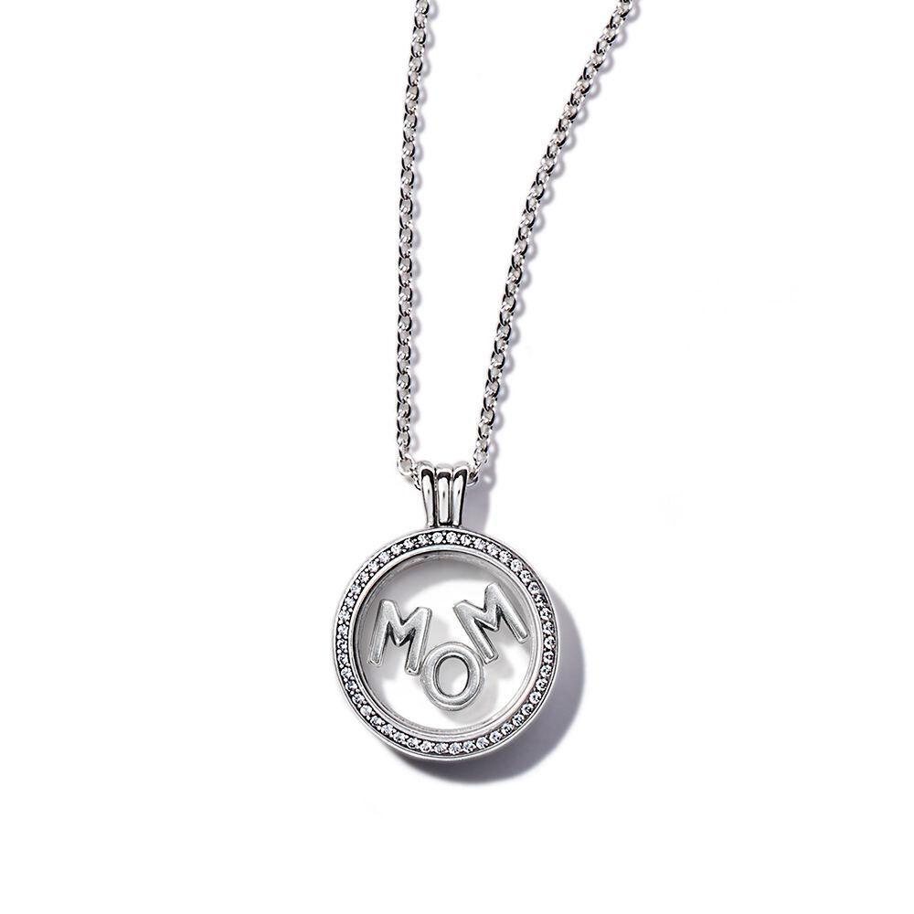 Sparkling Mom Floating Locket Gift Set PANDORA Jewelry US