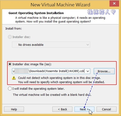 用VMware Workstation 11虛擬機器在 Windows 上執行 Mac OS osvm-07