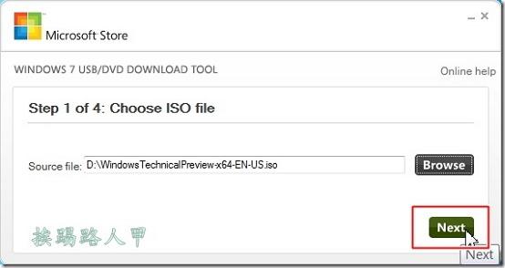 製作Windows 10預覽版的USB安裝隨身碟 usbw10-02_thumb