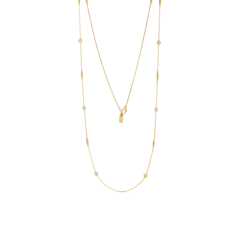 Roberto-Coin-Barocco-18K-Yellow-Gold-Necklace-with-Alternating-Diamond-Stations-7771251AY36X copy