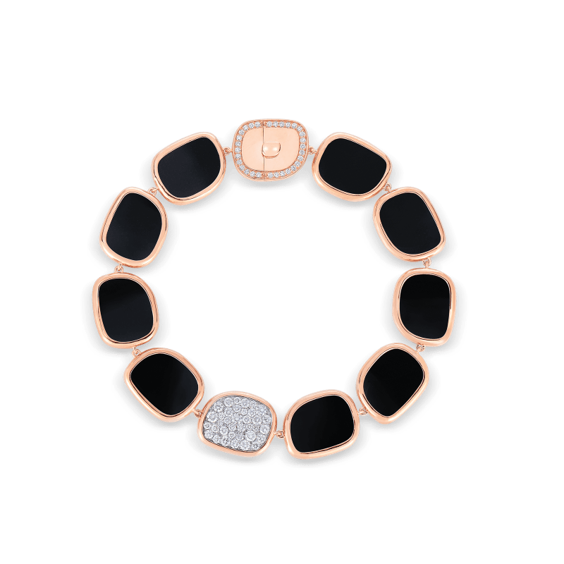 Roberto-Coin-Black-Jade-18K-Rose-Gold-and-18K-White-Gold-Bracelet-with-Black-Jade-and-Diamonds–888603AHLBJX