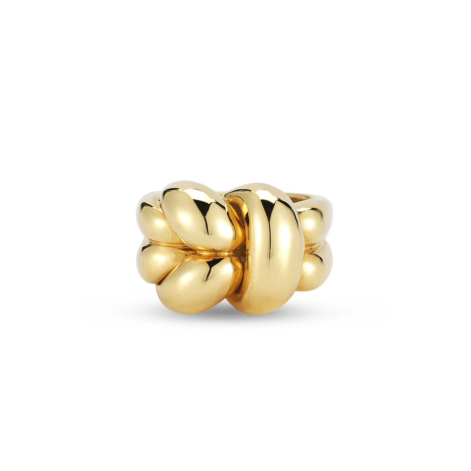 Roberto Coin 18k Gold Knot Ring, Size 7