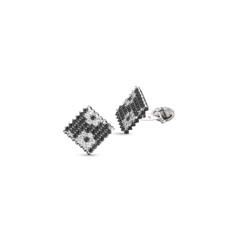 Roberto-Coin-Fantasia-18K-White-Gold-Cufflinks-with-Pave-Diamonds-and-Sapphires-Flowers-211454AWCFBD