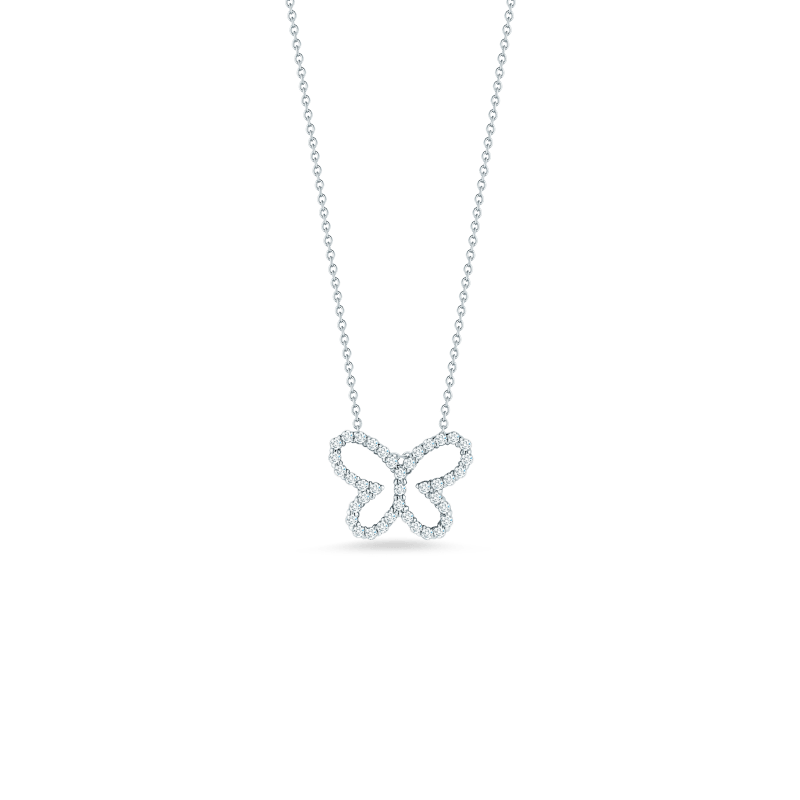 Roberto-Coin-Tiny-Treasures-18K-White-Gold-Butterfly-Pendant-with-Diamonds-000610AWCHX0