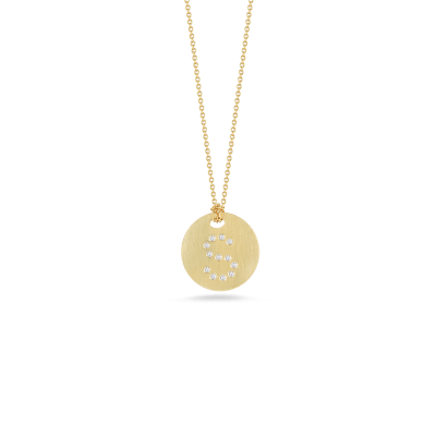 Roberto Coin Tiny Treasures 18K Gold With Diamond