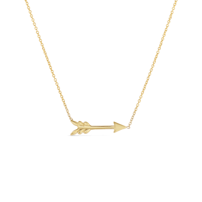 Product 18kt Arrow Necklace