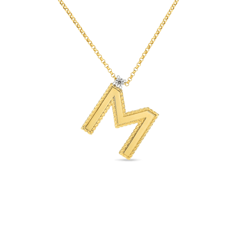 Roberto-Coin-18k-yellow-gold-Block-Letter-Pendant–M–7771372AYCHXM