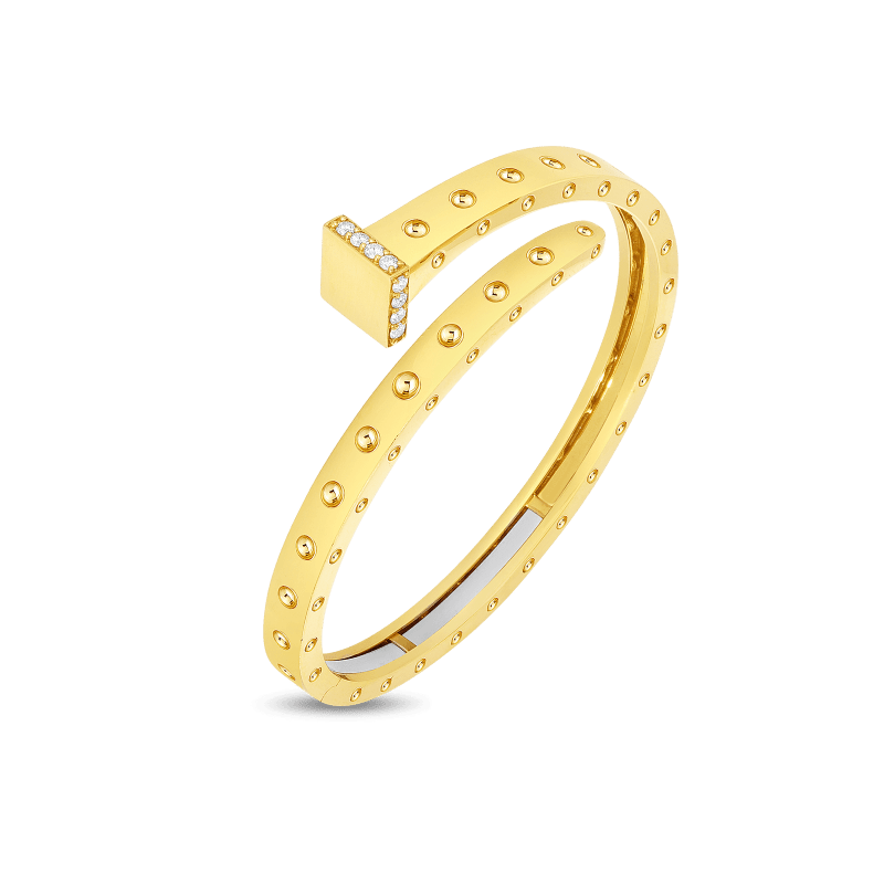 Roberto-Coin-18k-yellow-gold-Wide-Chiodo-Bangle-with-Diamonds-8882065AYBAX