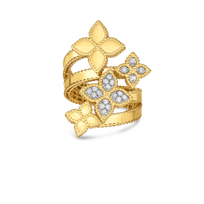Product 18K Princess Flower Roberto Coin