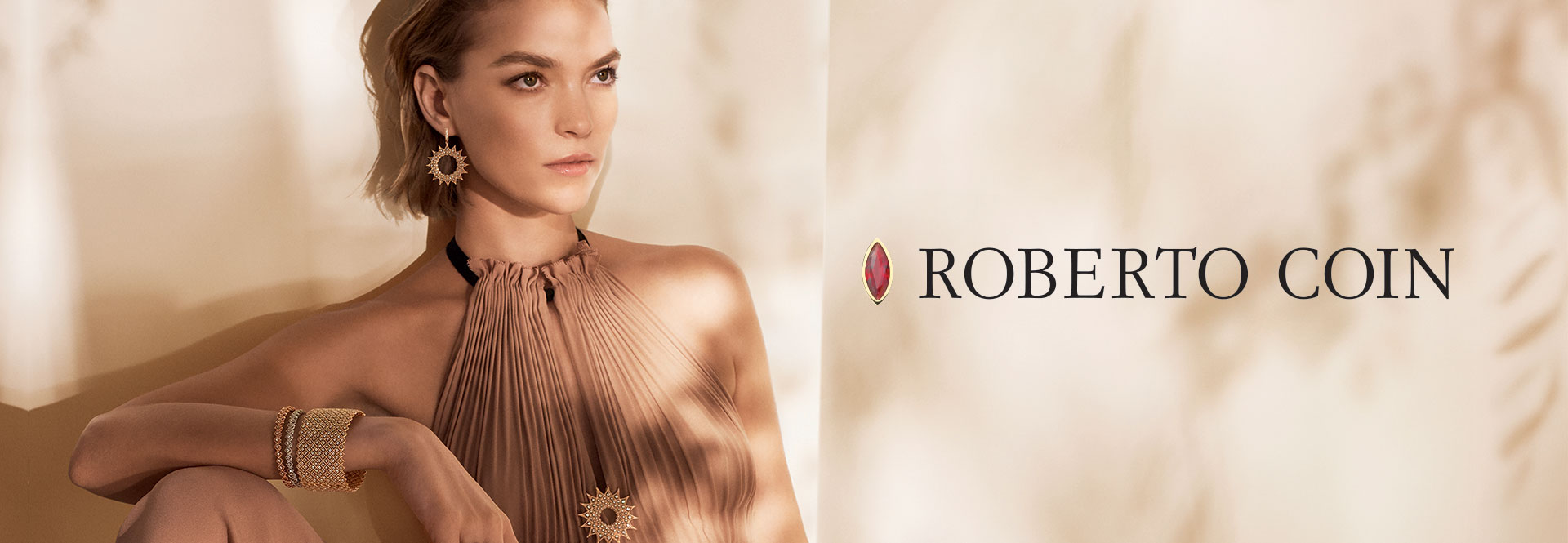 Roberto Coin Releases New Ad Campaign Featuring Supermodel Arizona Muse