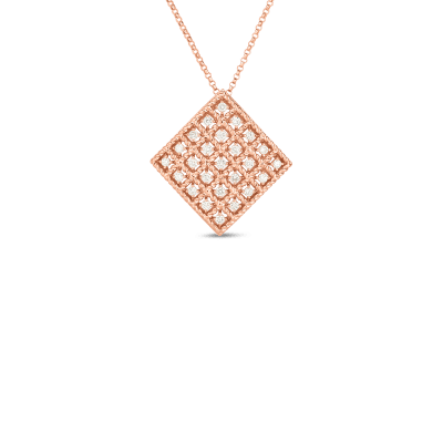 Product 18k Gold & Diamond Byzantine Barocco Medium Pendant