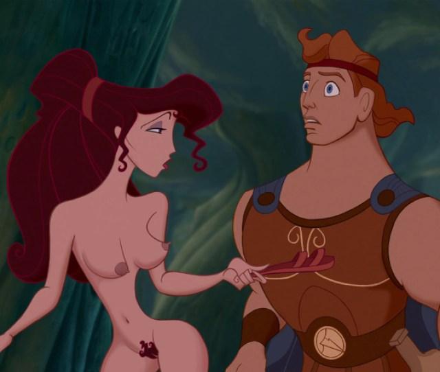 Breasts Brown_hair Disney Edit Female Hercules Hercules_film Lipstick Long_hair Male Man Megara Muscles