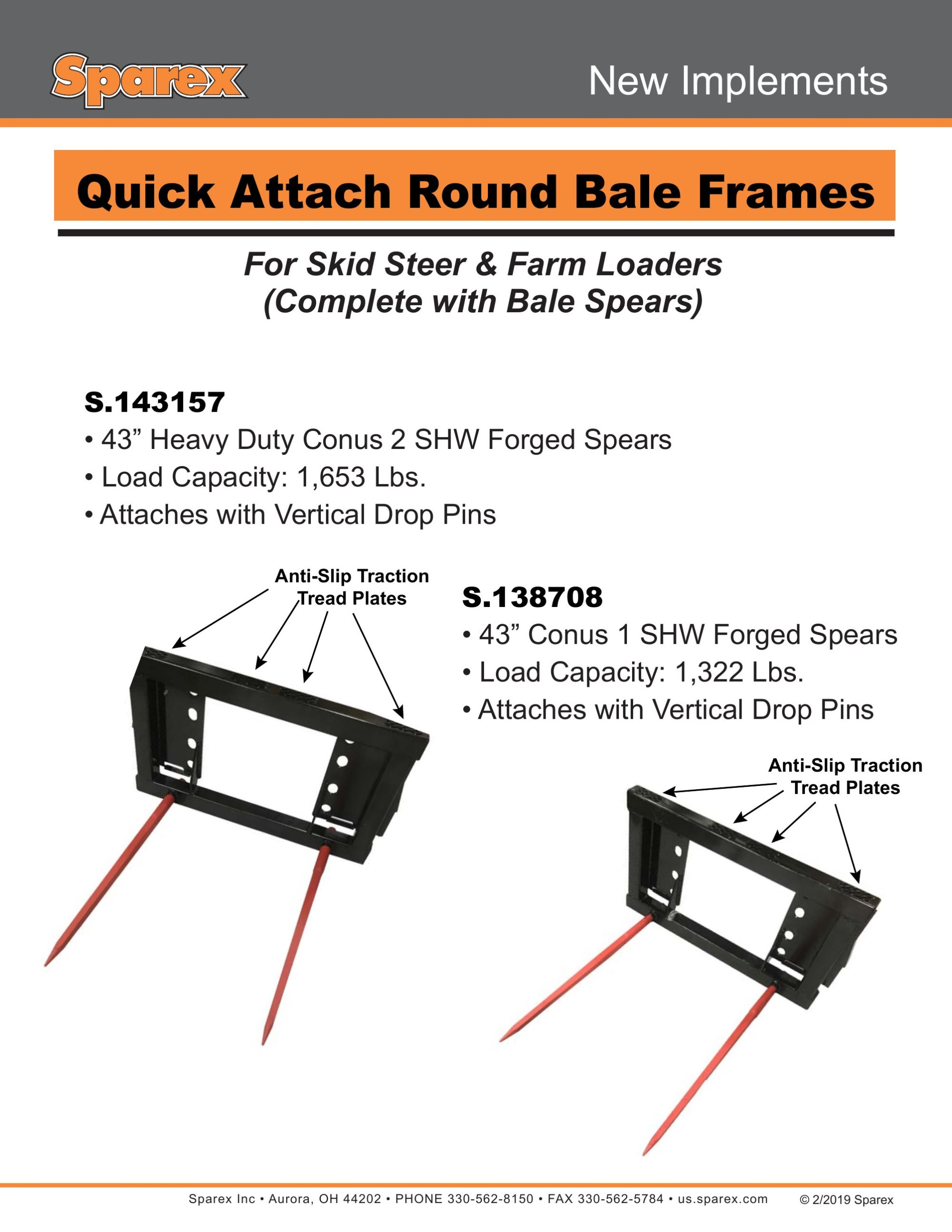 hight resolution of new implements quick attach round bale frames