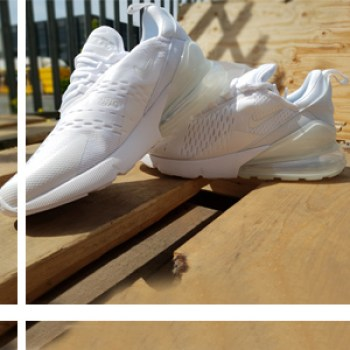 The Nike Air Max 270 Triple White Is Out Now