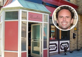 On 'The Unicorn,' Walton Goggins Finds Love at a Famous Paramount Studios Façade