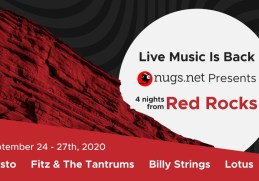Tiesto, Fitz & the Tantrums to Livestream Concerts From Red Rocks