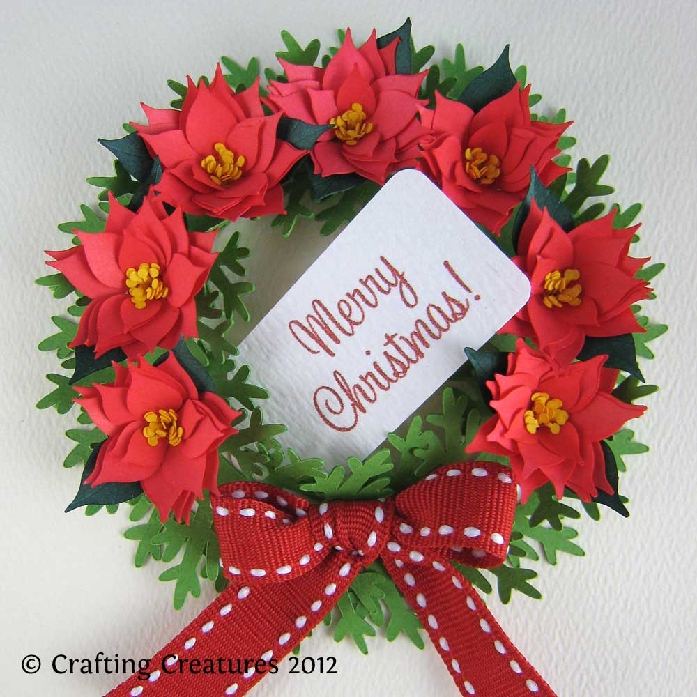 3D Poinsettia And Wreath Make The Cut Forum