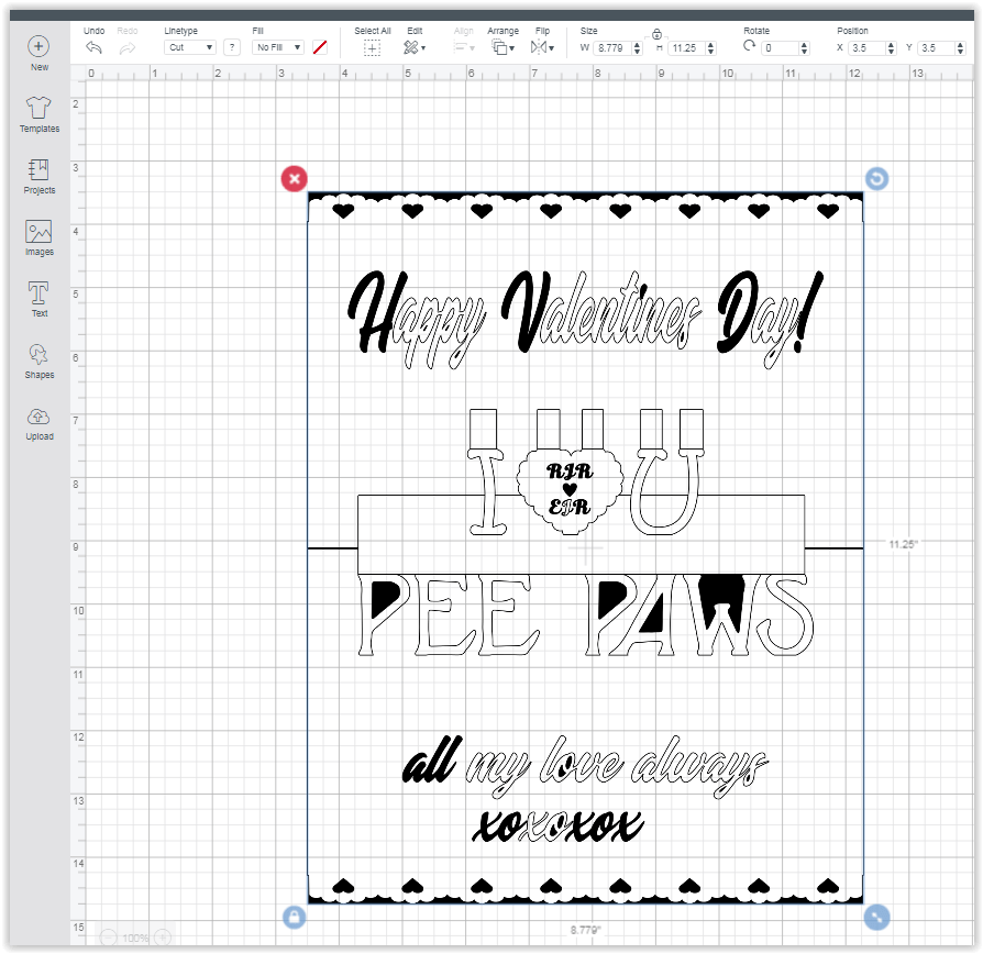 trying to import PCS file into Design Space — Make The Cut