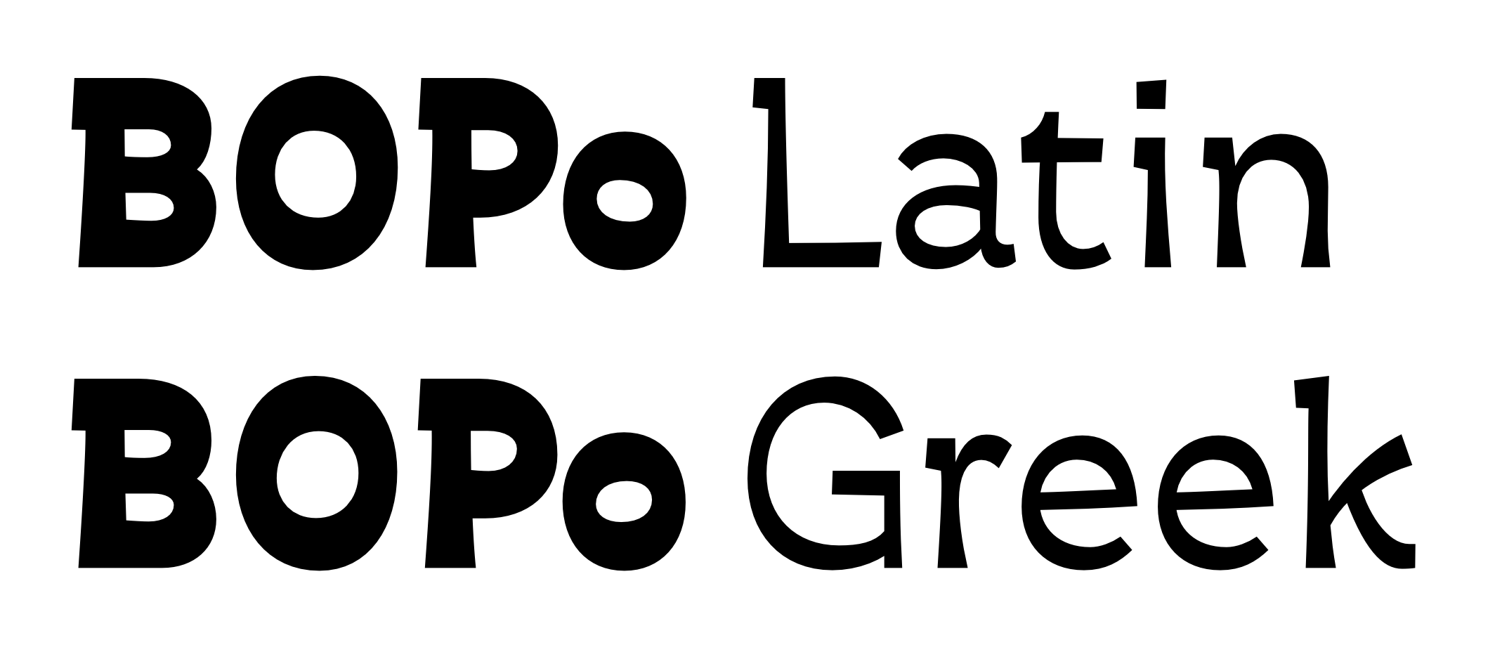 Practical uses for unambiguous LCG fonts? — TypeDrawers