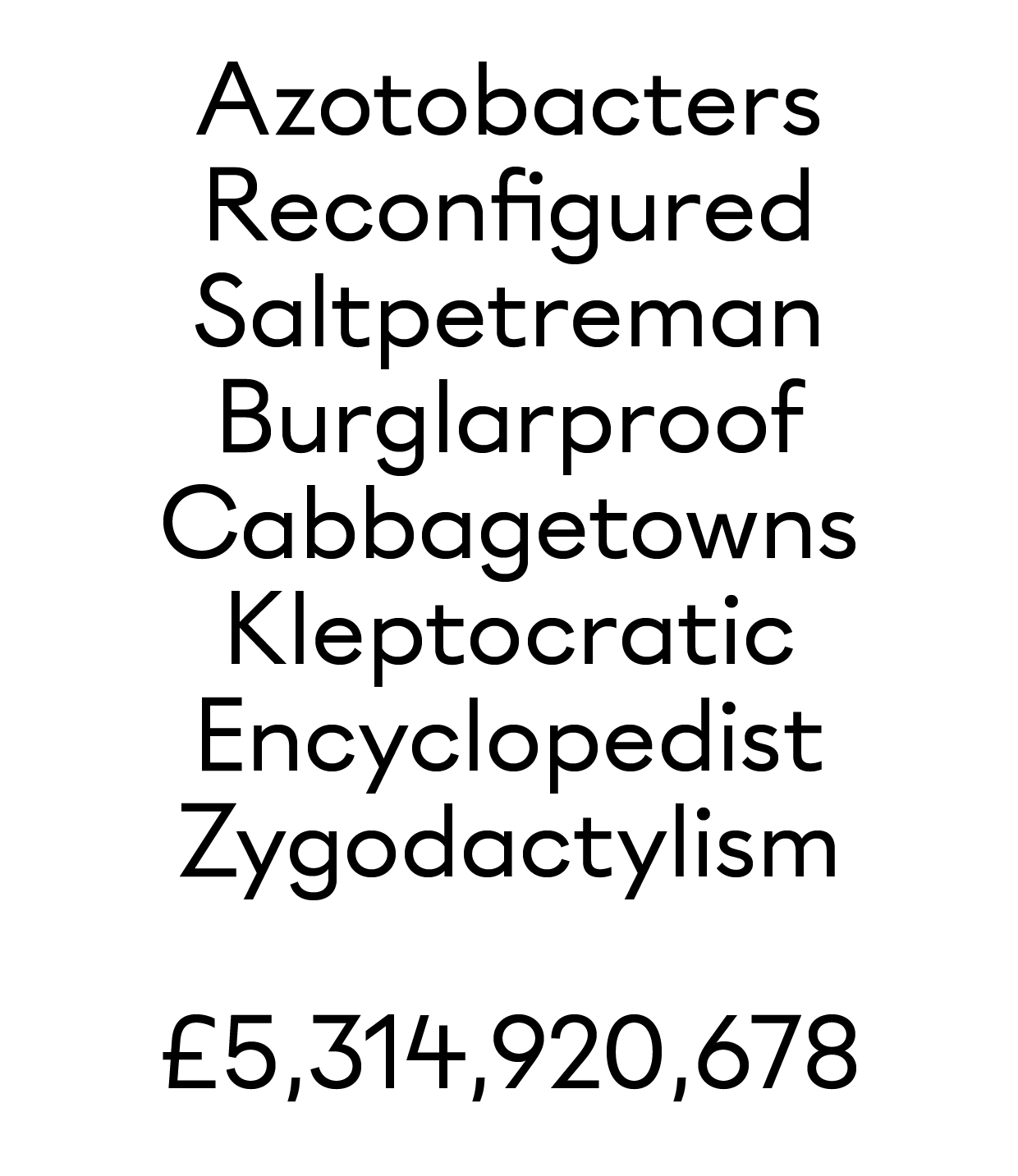 Unnamed Geometric Sans — TypeDrawers