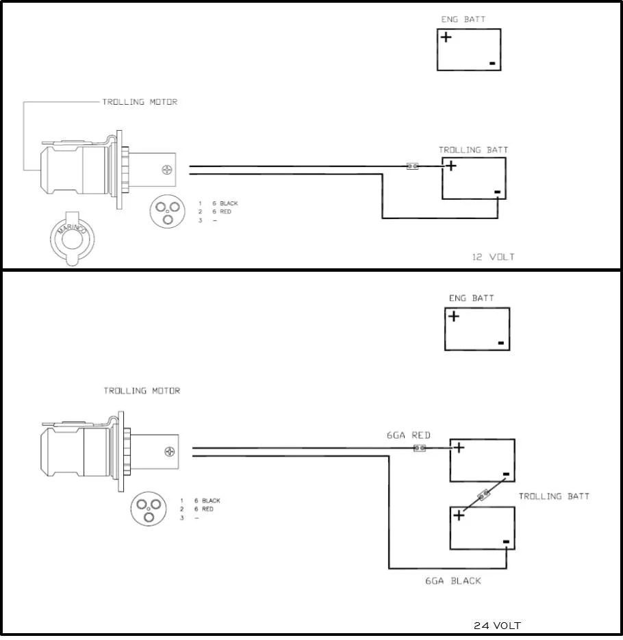 omc trolling motor 12 volt wiring diagram trolling free printable wiring diagrams
