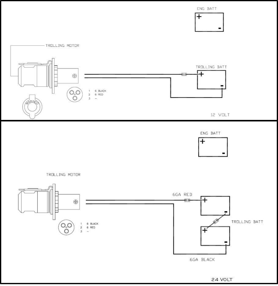 hight resolution of marinco trolling motor plug wiring diagram 4 wire 49