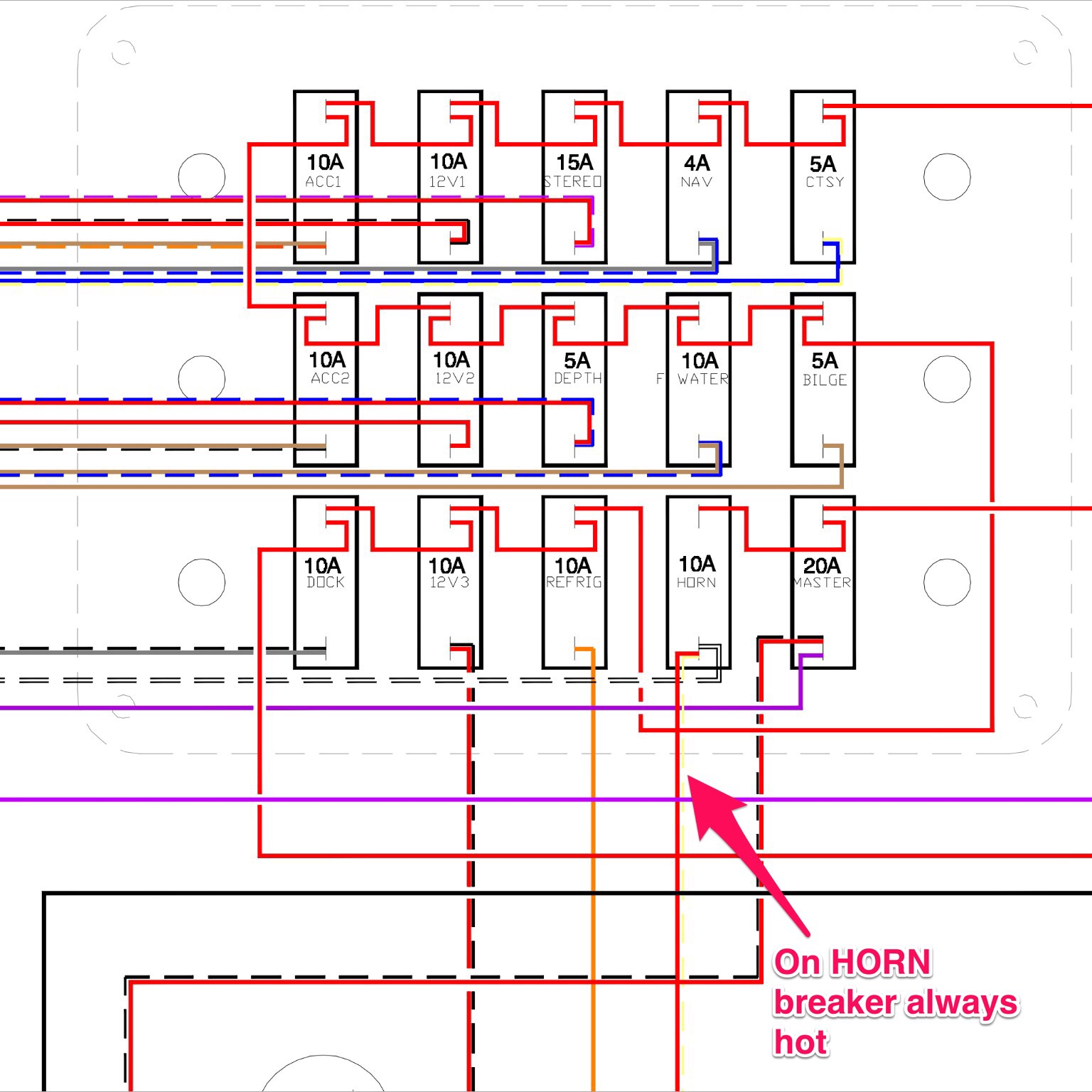 nsdycn1woofn 12 volt boat wiring diagram dolgular com  at gsmportal.co