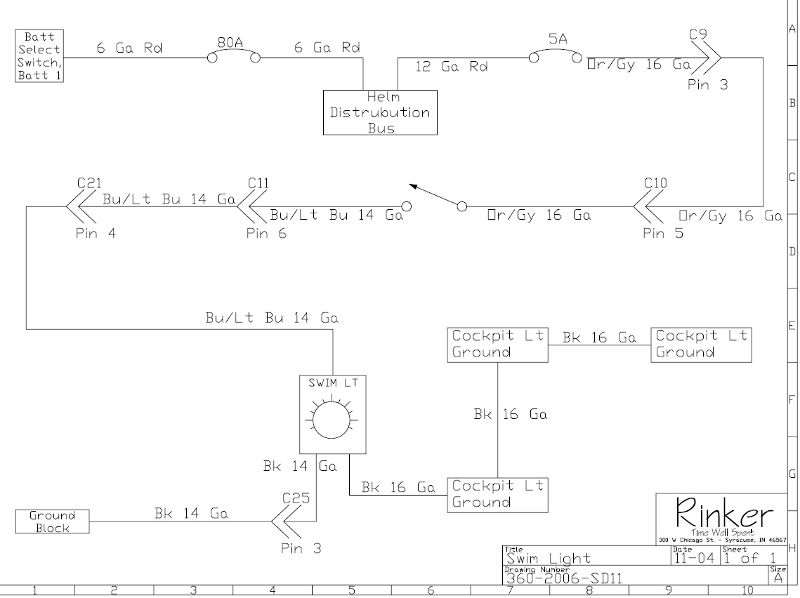 Rinker Boat Wiring Diagram - Today Wiring Schematic Diagram on