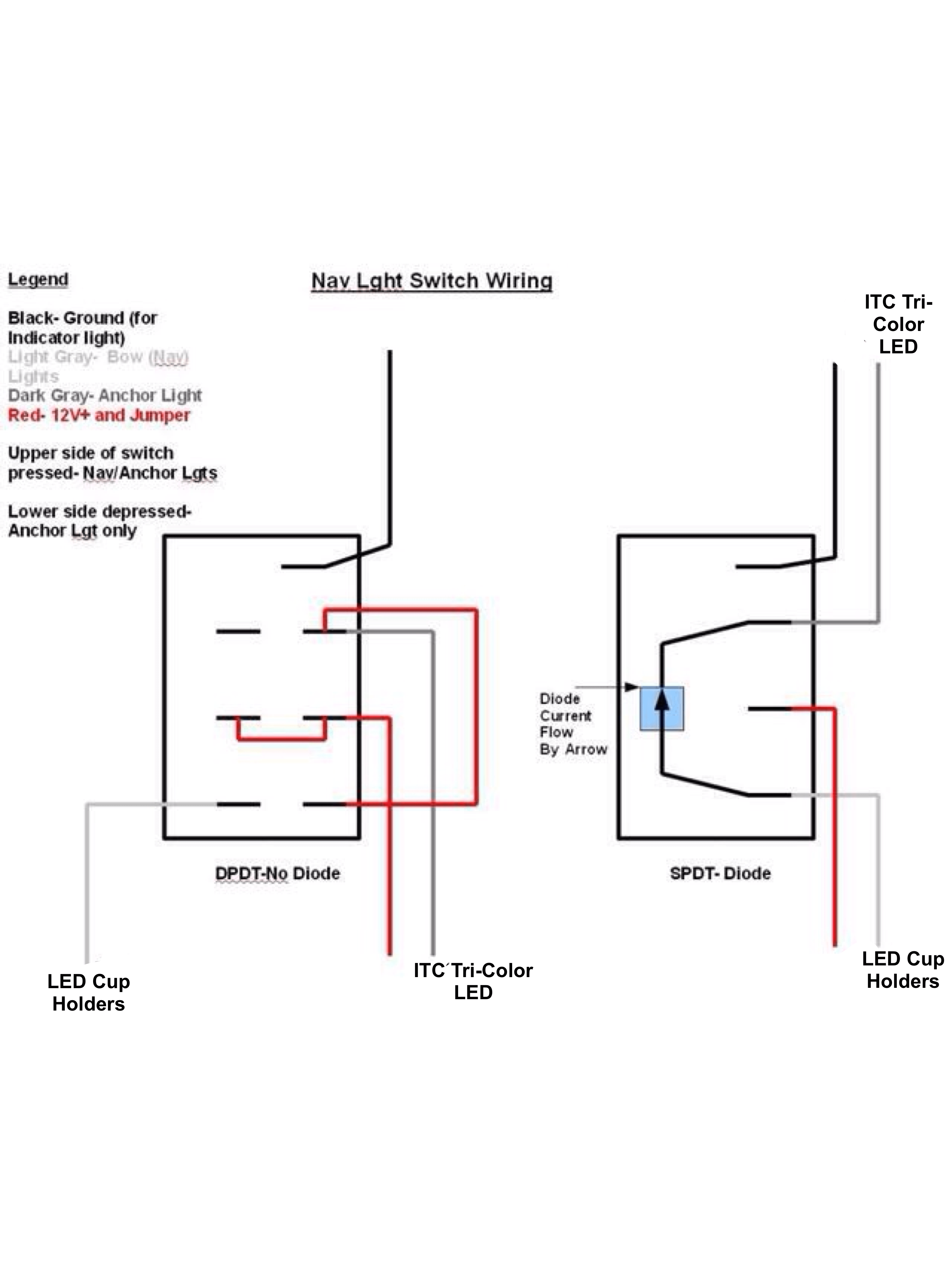 Spst Led Switch Wiring