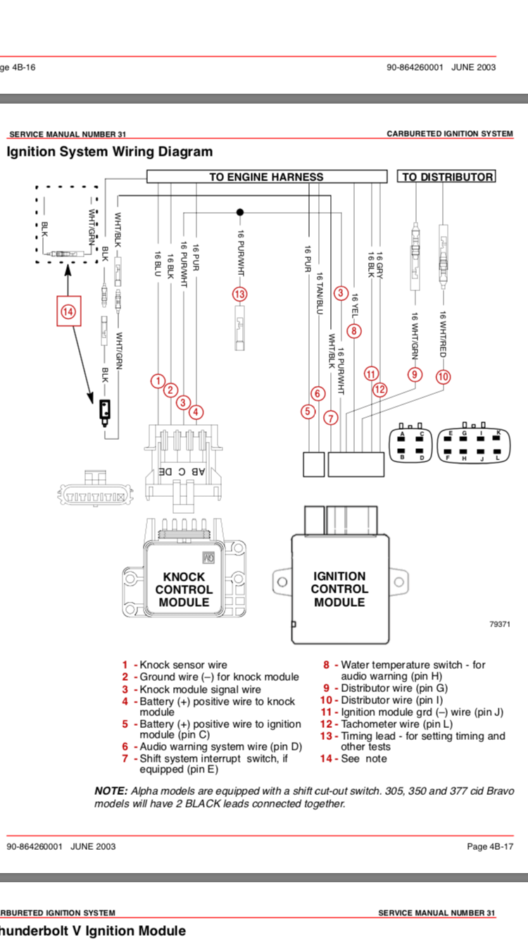 hight resolution of no spark but s cranking need help rinker boats rinker 342 wiring diagram