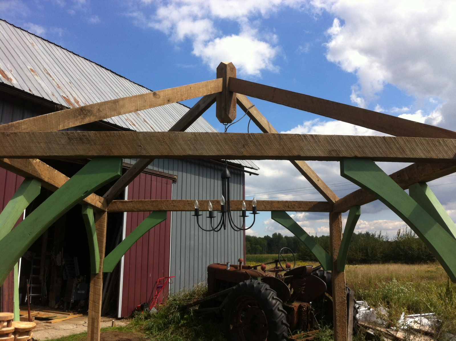 For Sale Rustic Wedding Gazebo Out Of Old Barn Wood The