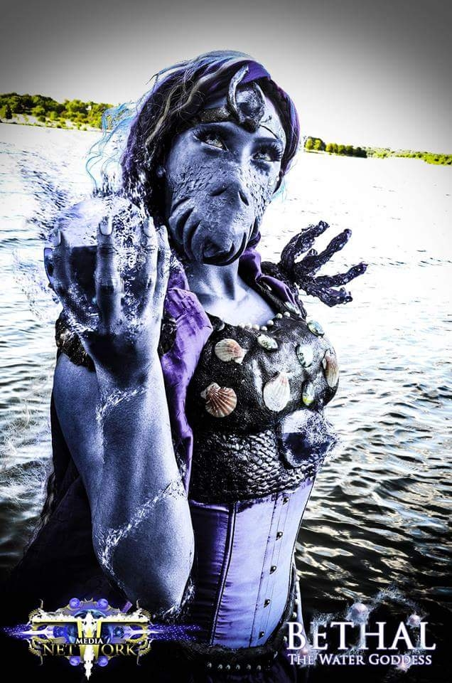 Cosplay Bethal the Water Goddess  Stan Winston School of