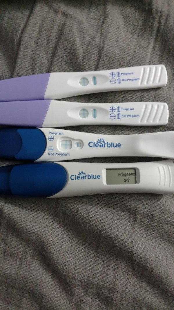 Multiple False Positive Pregnancy Tests - Year of Clean Water