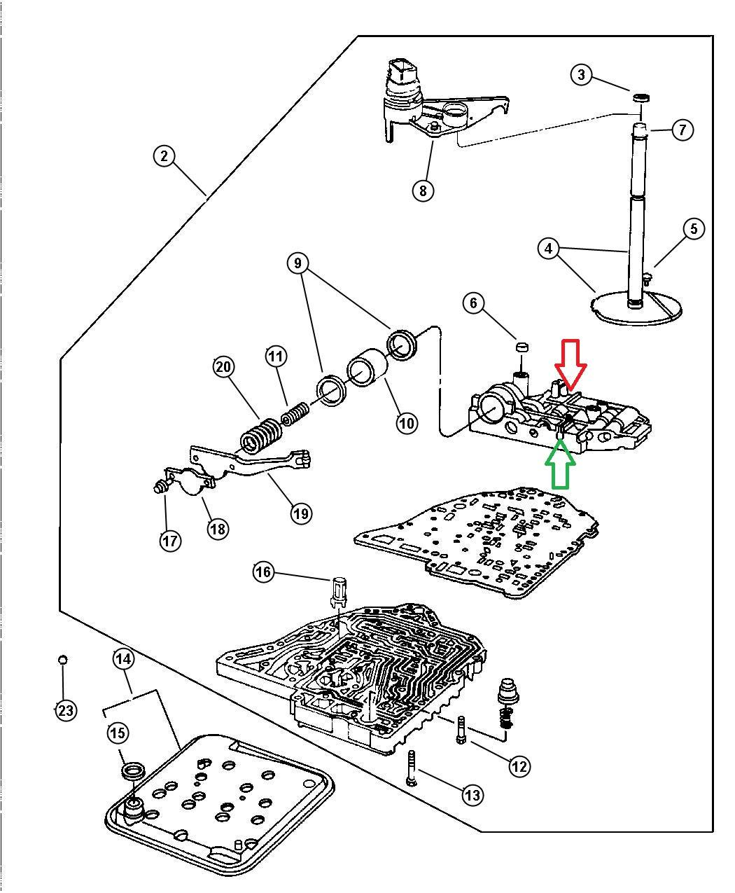1998 Honda Civic Transmission Range Sensor Location