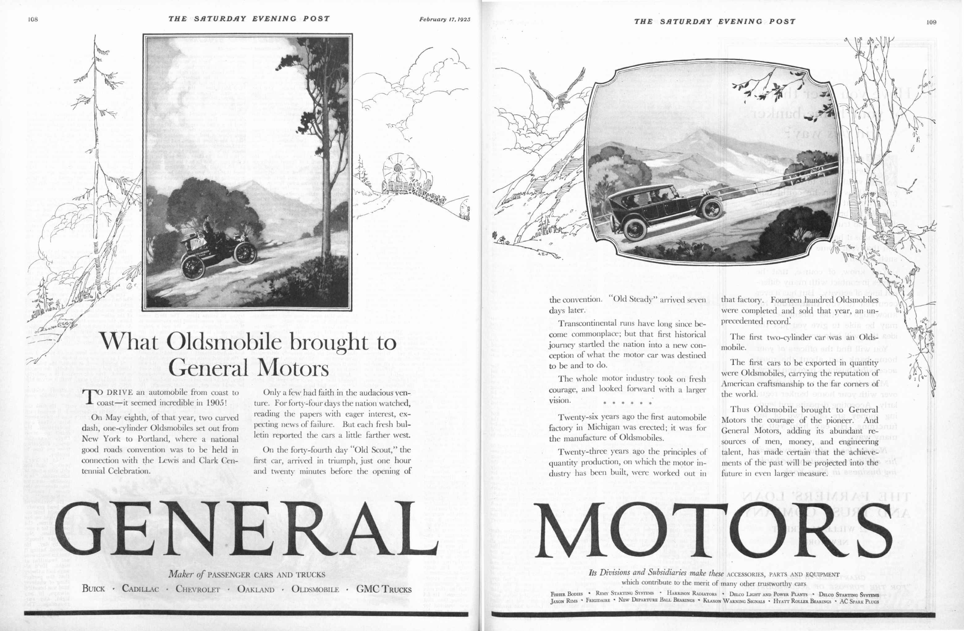 Automotive Ads And Brochures