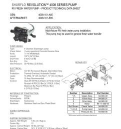 also found this replacement part listing on amazon shurflo 94 800 03 model 4008 check valve https www amazon com dp b00xkz31vc ref  [ 3570 x 4620 Pixel ]