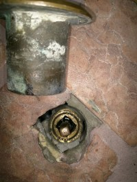 Leaking fireplace globe valve  Heating Help: The Wall