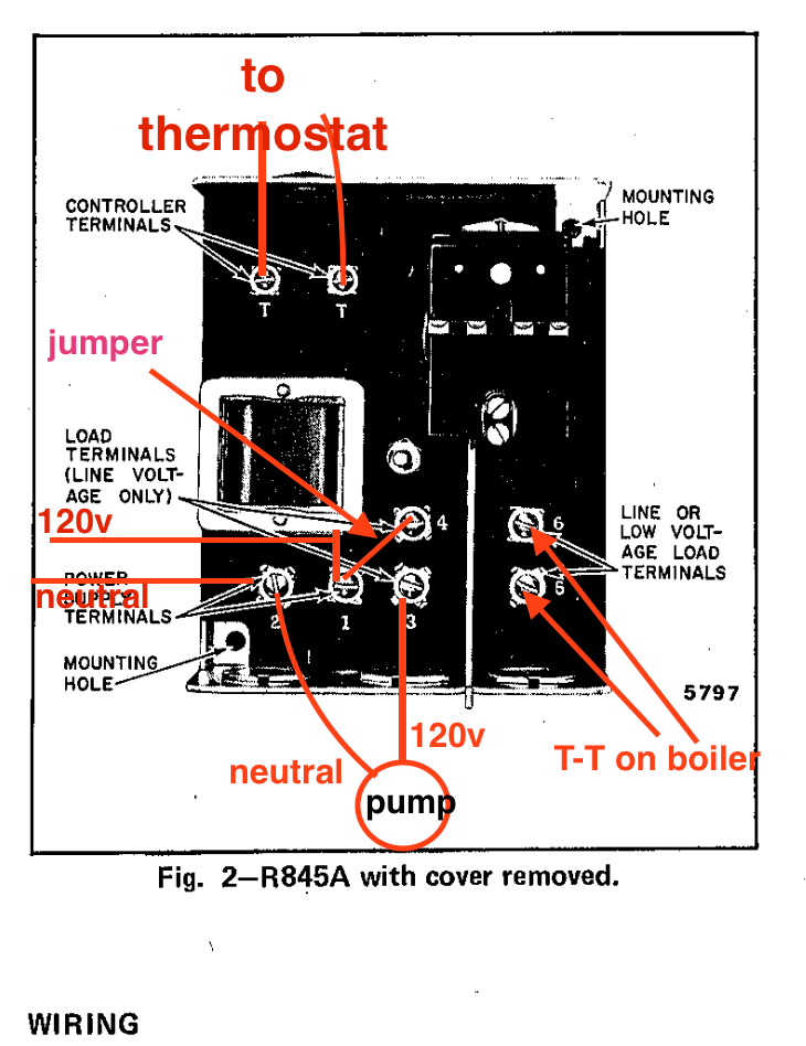 honeywell r845a wiring diagram for a 2 way dimmer switch circulator pump relay heating help the wall markup png