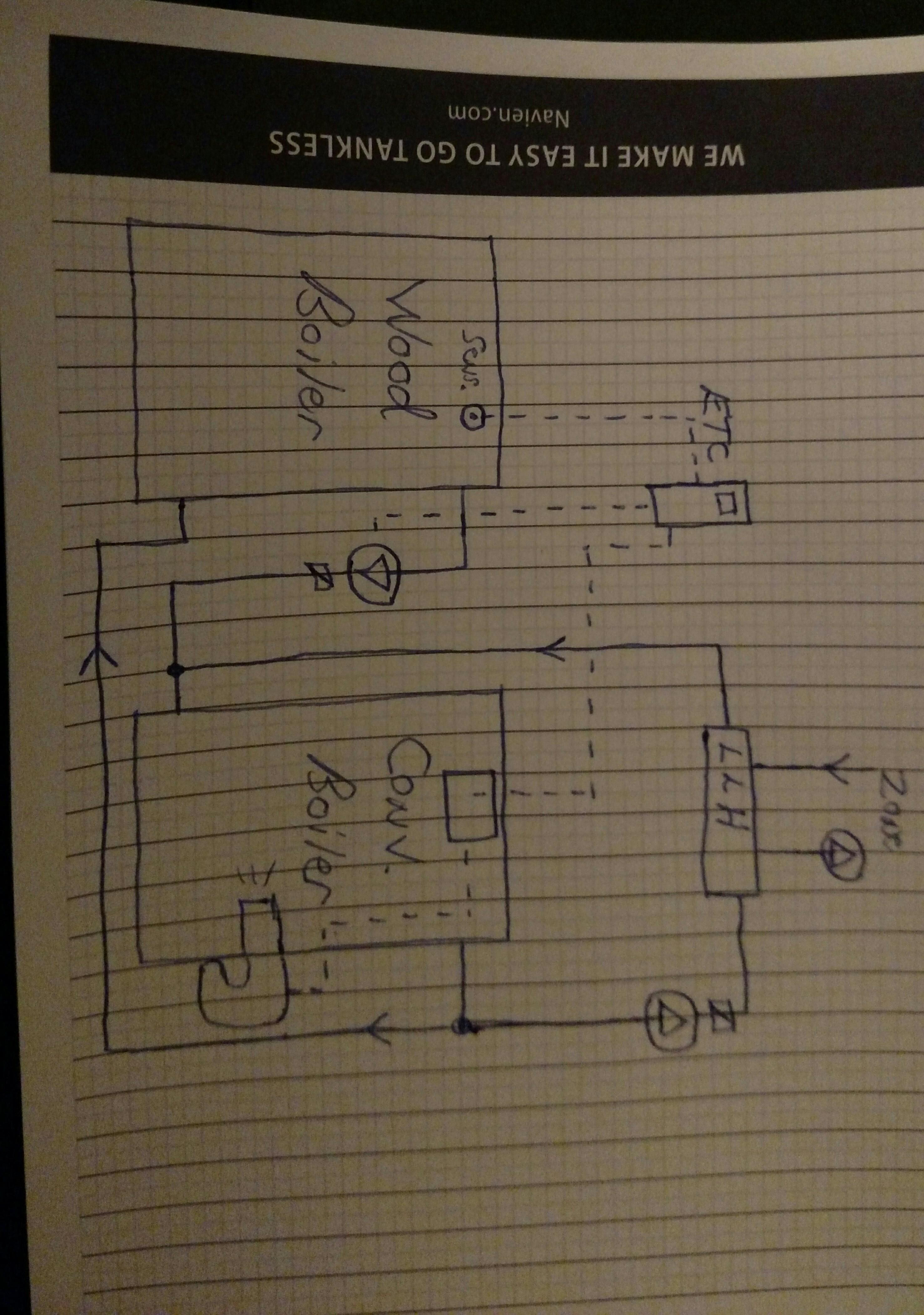 johnson controls a419 wiring diagram 2001 dodge ram trailer caleffi design  heating help the wall