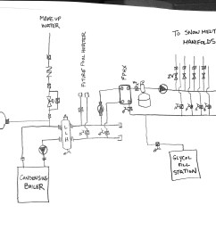 first snowmelt project near boiler schematic heating help the wall hot water boiler piping layout raypak boiler piping diagram [ 2400 x 1855 Pixel ]