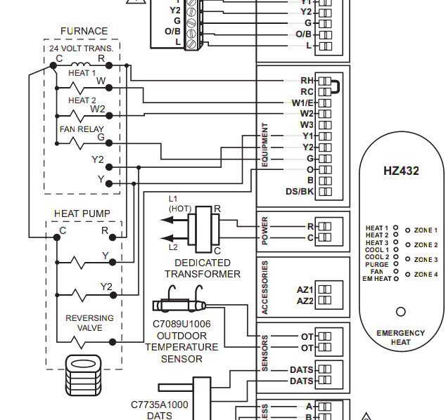 Honeywell Hz432 Wiring Diagram : 30 Wiring Diagram Images